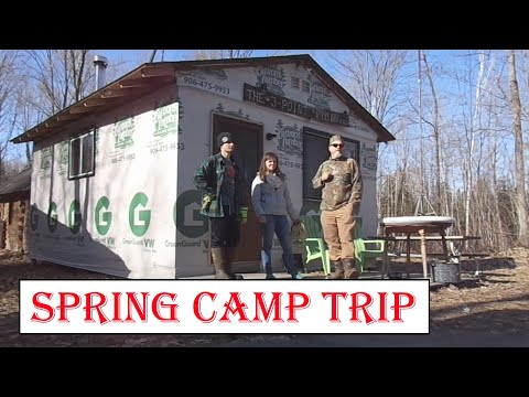 The First Spring Trip Into The Deer Camp