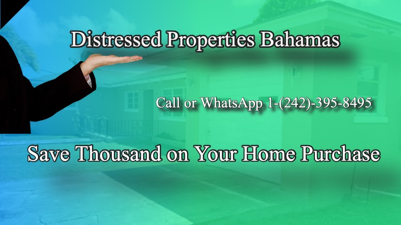 Distressed Property Bahamas for Sale - YouTube