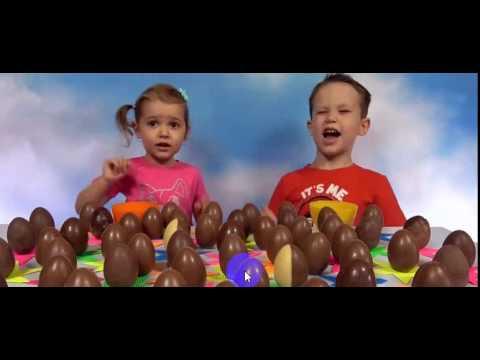 Киндер Челлендж 50 яиц кто больше соберт коллекционных игрушек Kinder Eggs Challenge with toys