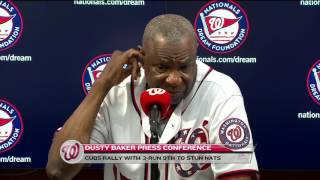 More from Dusty Baker on ejection