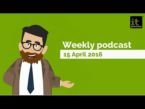 15 April 2016 Weekly podcast: EU GDPR, Morrisons lawsuit and a win against ransomware