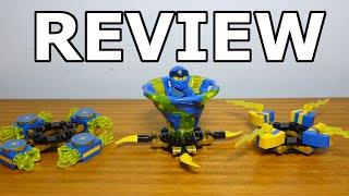 Lego Ninjago Spinjitzu Jay Review Set #70660