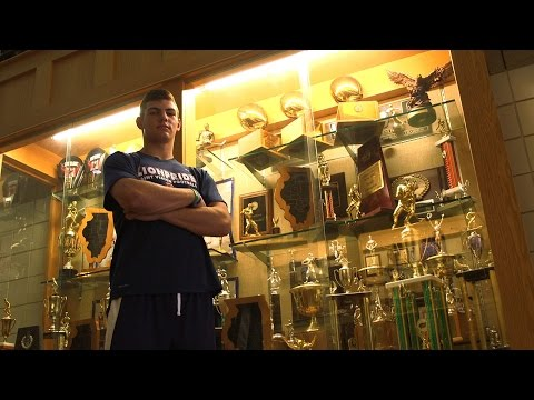 Cole Kmet - Saint Viator Tight End - Highlights/Interview - Sports Stars of Tomorrow