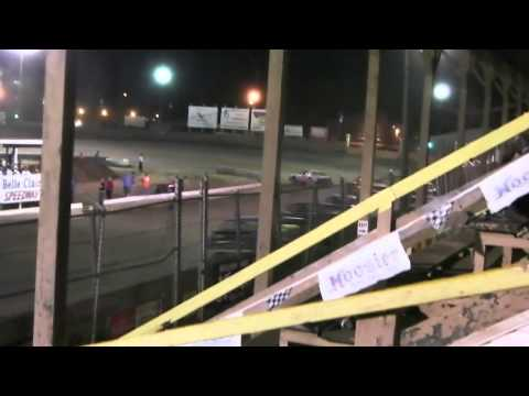 Belle Clair Speedway Pure Stock Feature June 27 2014