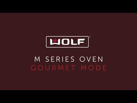 Wolf M Series Oven - Gourmet Mode - Mixed Berry Pie