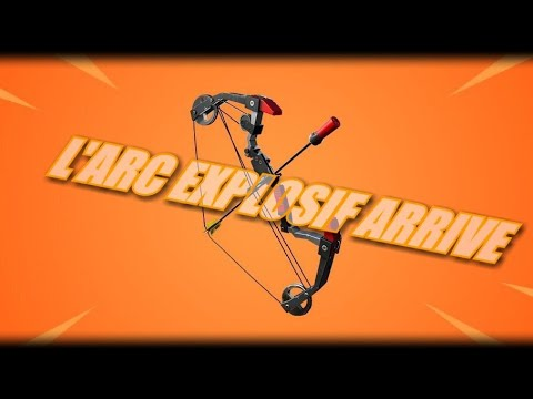 fortnite-:-l'arc-explosif-dÉbarque-/-explosive-boom-bow-weapon-coming-soon