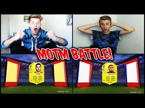 Wer die meisten MOTM KARTEN zieht gewinnt das Pack Opening Battle! - FIfa 18 Ultimate Team