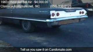 1963 Chevrolet Bel Air  for sale in Nationwide, NC 27603 at #VNclassics