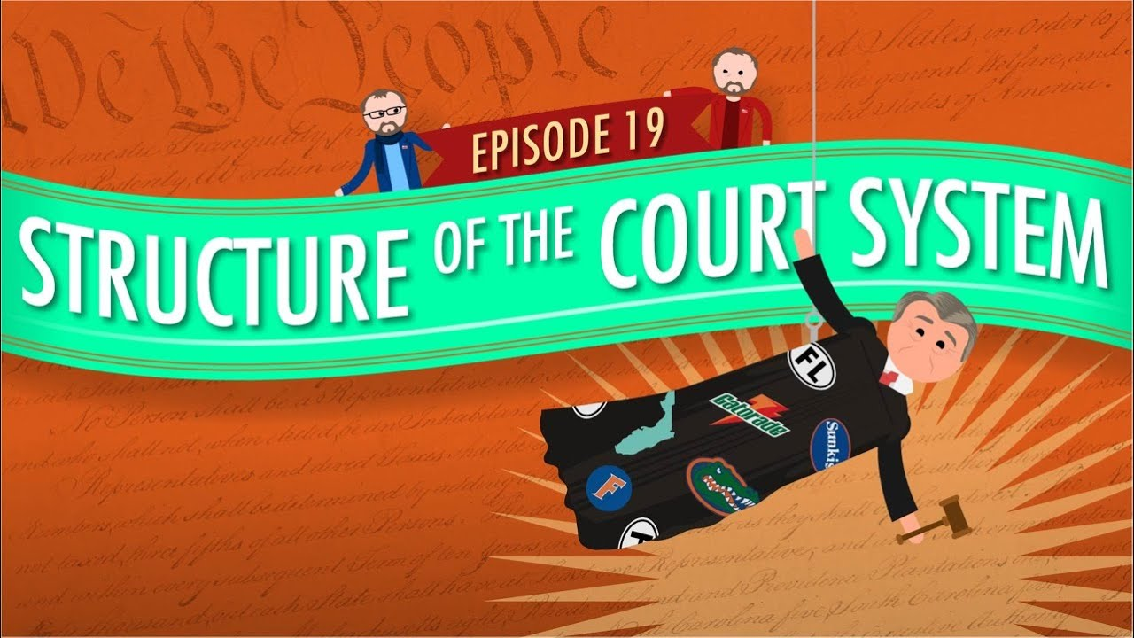 structure of the court system crash course government and politics 19 youtube. Black Bedroom Furniture Sets. Home Design Ideas