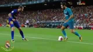 كل ما قدمه ايسكو امام برشلونة   شاهد كيف تلاعب بوسط برشلونة بأكمله