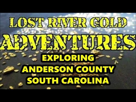 GOLD PROSPECTING ANDERSON COUNTY SOUTH CAROLINA - FOLLOW-UP EXPLORATION