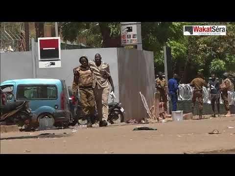 Attaque à Ouagadougou: Des blessés à l'Etat-major général des armées