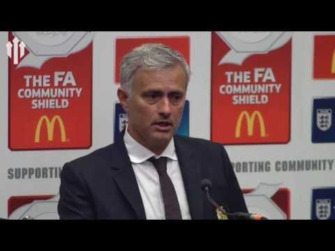 José Mourinho: I Want To Dedicate This Victory To Louis Van Gaal! | PRESSER
