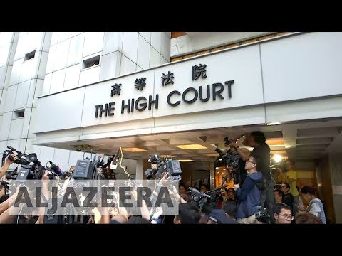 Former Hong Kong leader avoids conviction in bribery case