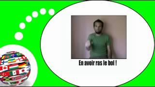 Французского видео урок = Жесты и выражения, № 1