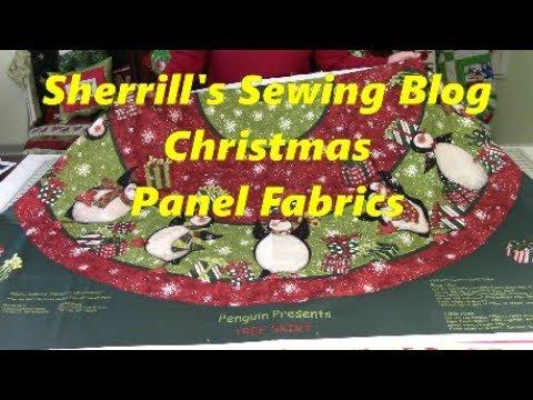 Christmas Panel Fabrics