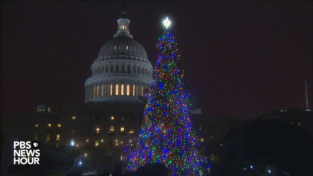 Capitol Christmas Tree.Watch The 2016 Capitol Christmas Tree Lighting