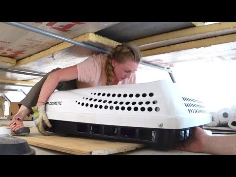 THIS Will Make the PURISTS' BLOOD BOIL! (Installing Air Conditioning in Our RV)