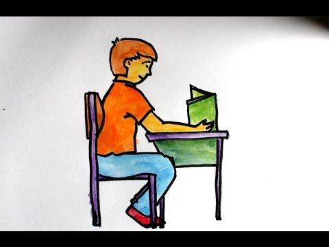 Download 520  Gambar Animasi Orang Duduk  Paling Keren