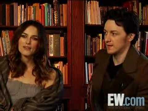 Entertainment Weekly Interview with Keira and James