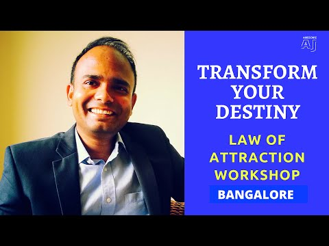 Transform Your Destiny in Bangalore | India's Best Law of Attraction Workshop