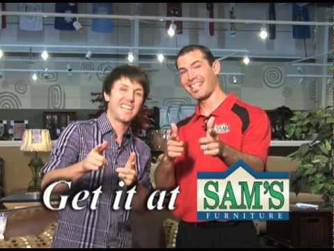 Sam S Furniture Commercial W The New Spokesperson Brock Youtube