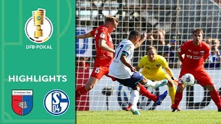 Successful Wagner debut | Drochtersen/Assel vs. Schalke 04 0-5 | Highlights | DFB Cup | 1st Round