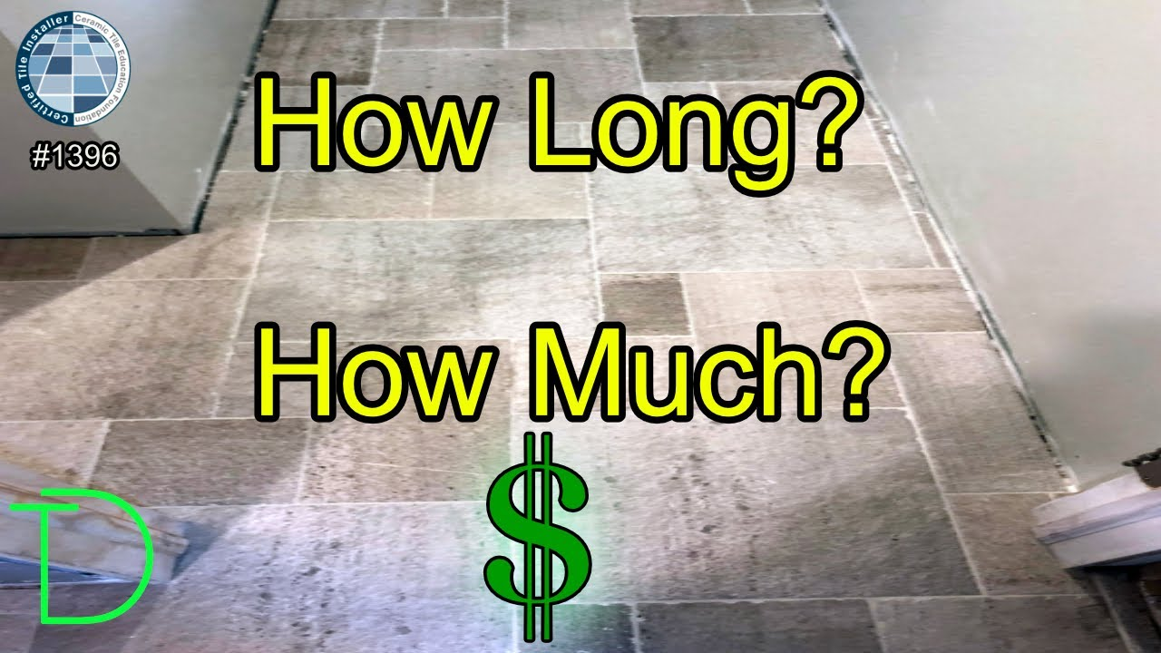 cost to replace tile floor