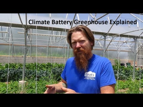 Climate Battery Greenhouse Explained