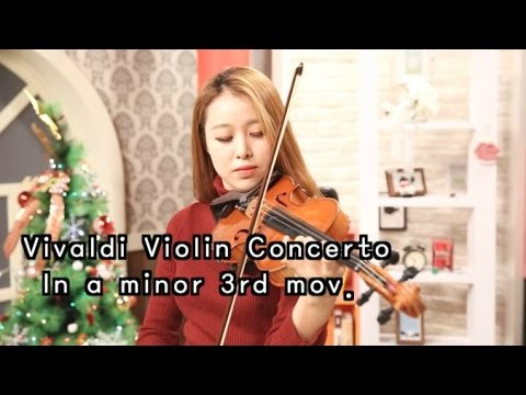 Vivaldi violin Concerto in a minor 3rd mov._Suzuki violin Vol.4