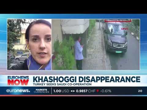 #EuronewsNow | Khashoggi Disappearance: Turkey seeks Saudi co-operation