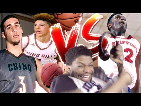 BALL BROTHERS vs ZION WILLIAMSON!!
