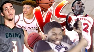 BALL BROTHERS vs ZION WILLIAMSON!!