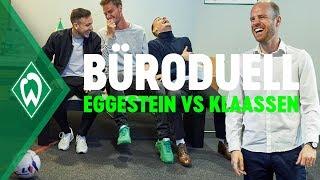 Büro Duell: Maxi Eggestein vs. Davy Klaassen | SV Werder Bremen