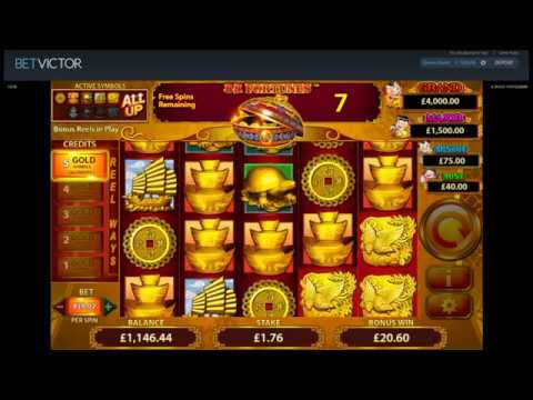 Sunday Slots with The Bandit - 88 Fortunes, Where's The Gold and More