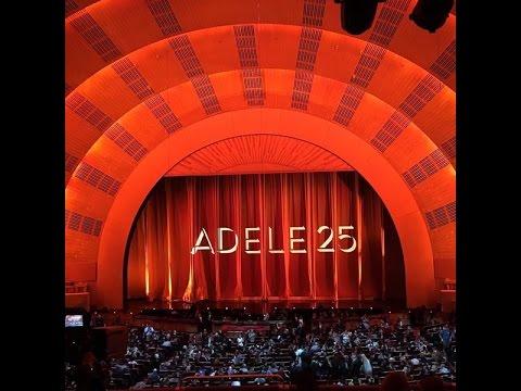 Adele Live in New York City 2015