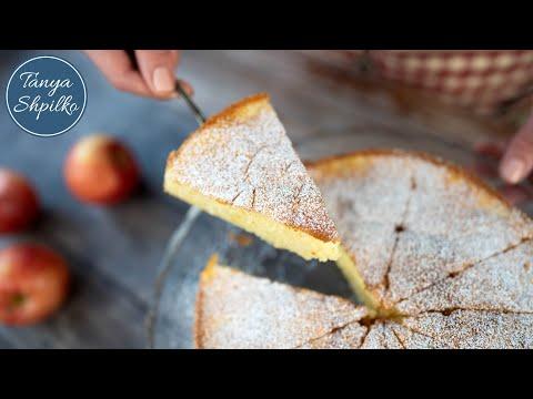 Нежный Французский Яблочный Пирог из Очень Простых Продуктов | French Apple Cake | Tanya Shpilko