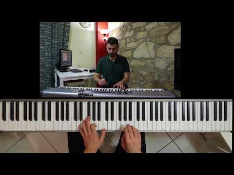 Ηλίας Βρεττός - Φώναξέ με | Ilias Vrettos - Fonakse me (Piano Cover)