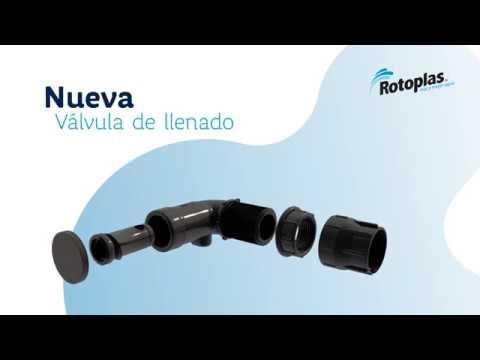 Nueva Válvula de Llenado Rotoplas