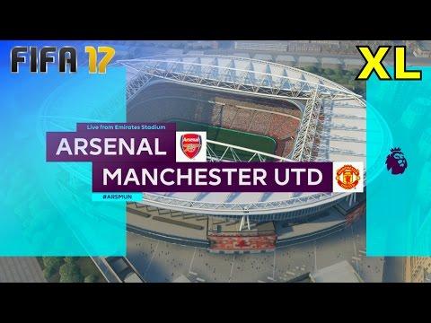 FIFA 17 - Arsenal vs. Manchester United @ Emirates Stadium (XL Match)