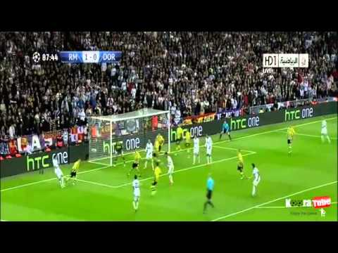 Real Madrid 2-0 Borussia Dortmund All Highlights And Goals 4-30-2013 HQ ( 3-4 AGG )