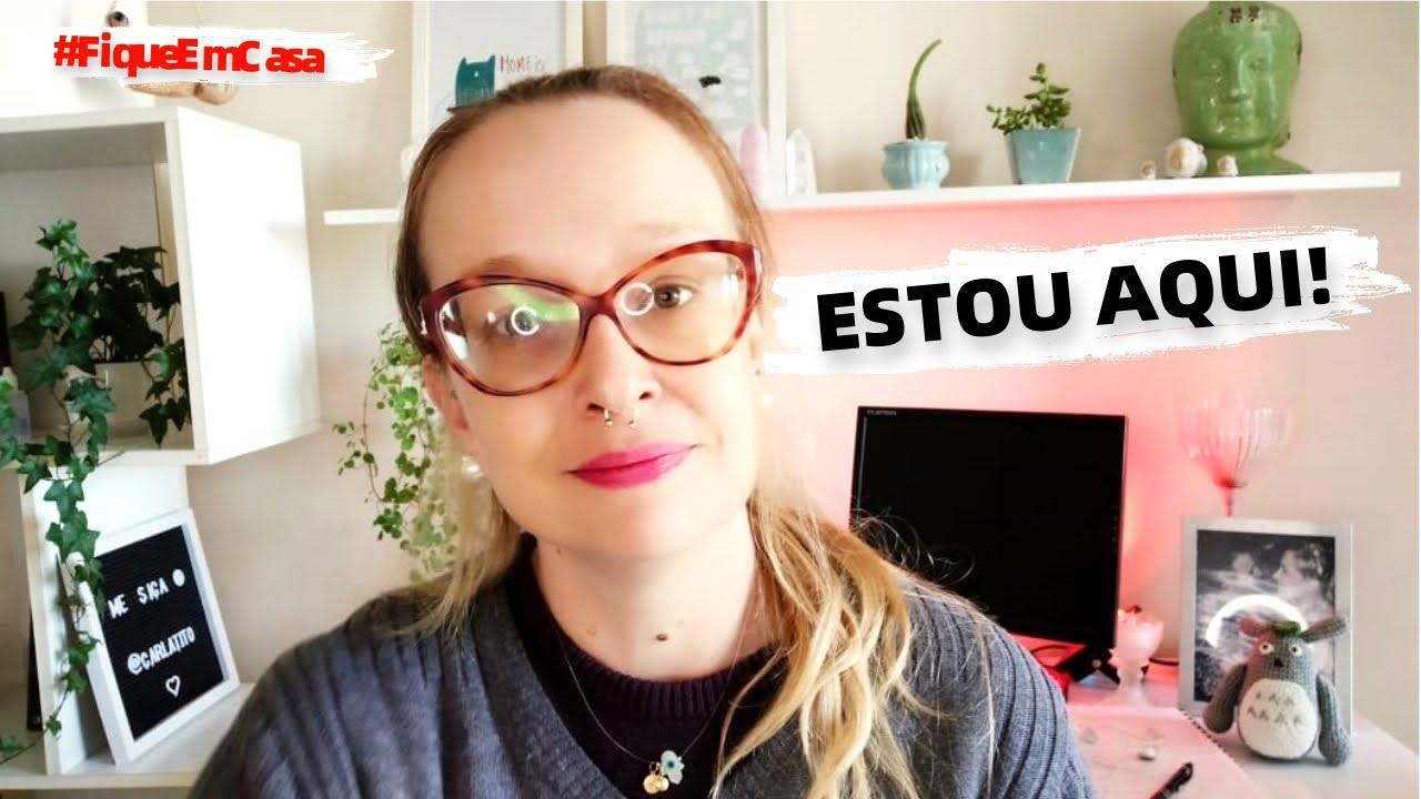 PORQUE EU DEI UMA SUMIDA DO CANAL, DESABAFO, ANSIEDADE E ESPERANÇA - Ep. 165