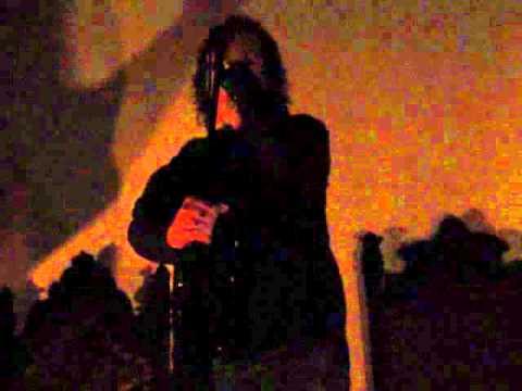 Mark Lanegan Hollywood Forever Cemetery June 2011 - Buring Jacobs Ladder