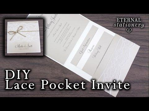 how-to-make-a-rustic-lace-pocket-invitation-|-diy-wedding-invitations