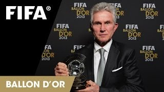 Jupp Heynckes on winning FIFA Coach of the Year (German)