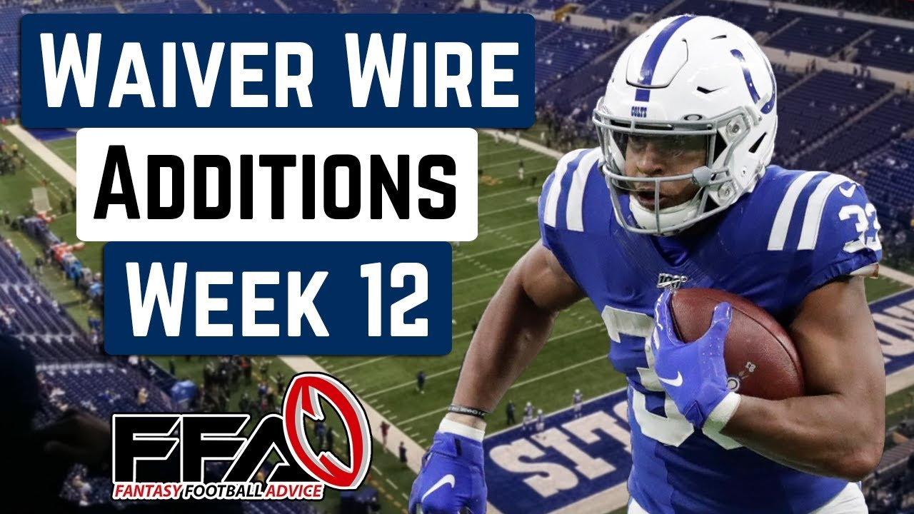 Top Waiver Wire Targets - Week 12 - 2019 Fantasy Football Advice