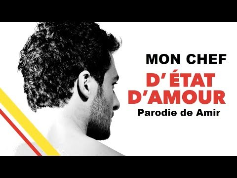AMER - Mon Chef D'état D'amour - (Parodie De Amir - Etats D'amour)