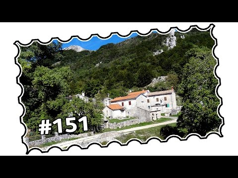 #151 - Croatia, Istria area - Mt  Učkas Route 8 corrected (09/2015)