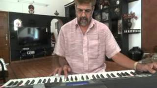 omanapoove song on keyboard