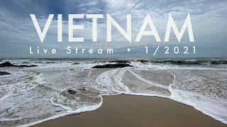 Прямой эфир 1 января 2021 Вьетнам Муйне GoPro